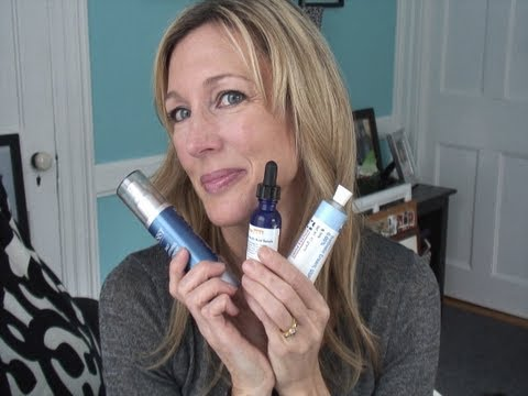 My Skincare Routine for Anti-Aging ~ Treating Age Spots & Wrinkles with Retin-A & Vitamin C