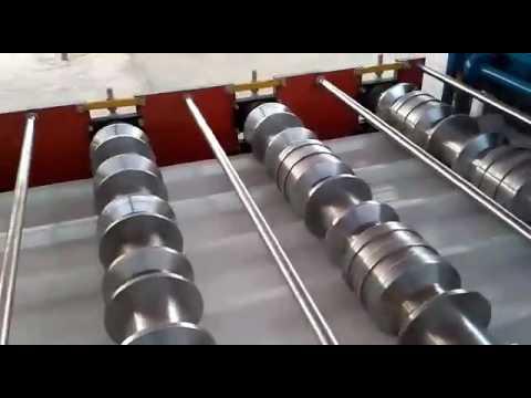 Super Market Rack Roll Forming Machine by Dhruvanshi Group( Dhruvanshi International), Surat