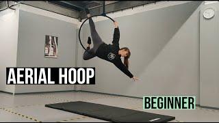 Aerial Hoop Routine Tutorial (Beginner Level)   AIR Hoop