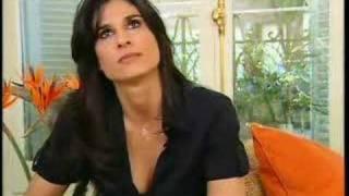 Gabriela Sabatini Interview 2006-11-20 (Eurosport) 2