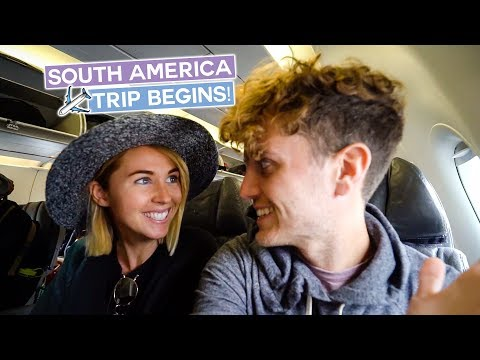 Let The South America Trip Begin | Peru Vlog