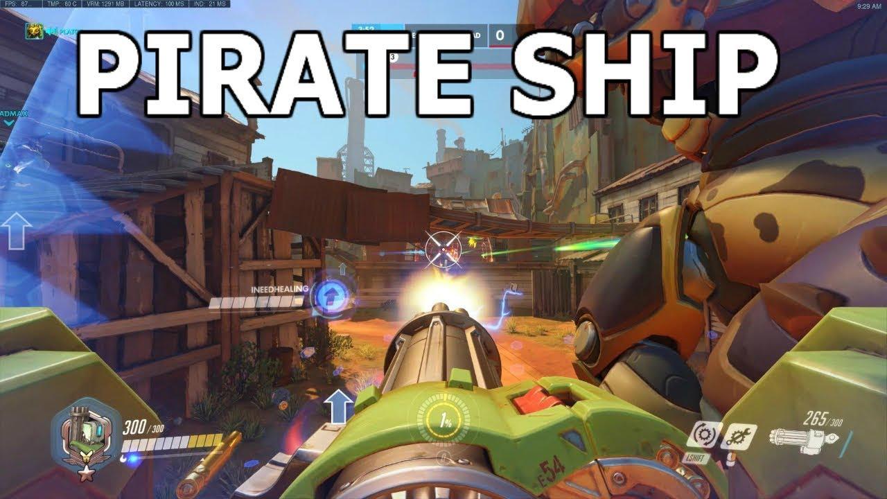 pirate ship overwatch # 11