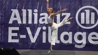 A touch of Modern Dance in NYC for the E-village at Formula E