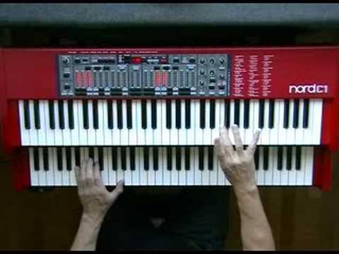 Baby Elephant Walk (Henry Mancini) Hatari - Nord C1 Hammond B-3 Organ Clone Clavia
