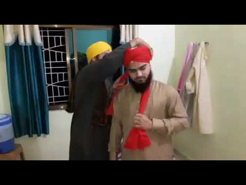 to wear - How to imama wear sharif video