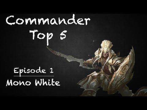 Commander Top 5 | Mono White