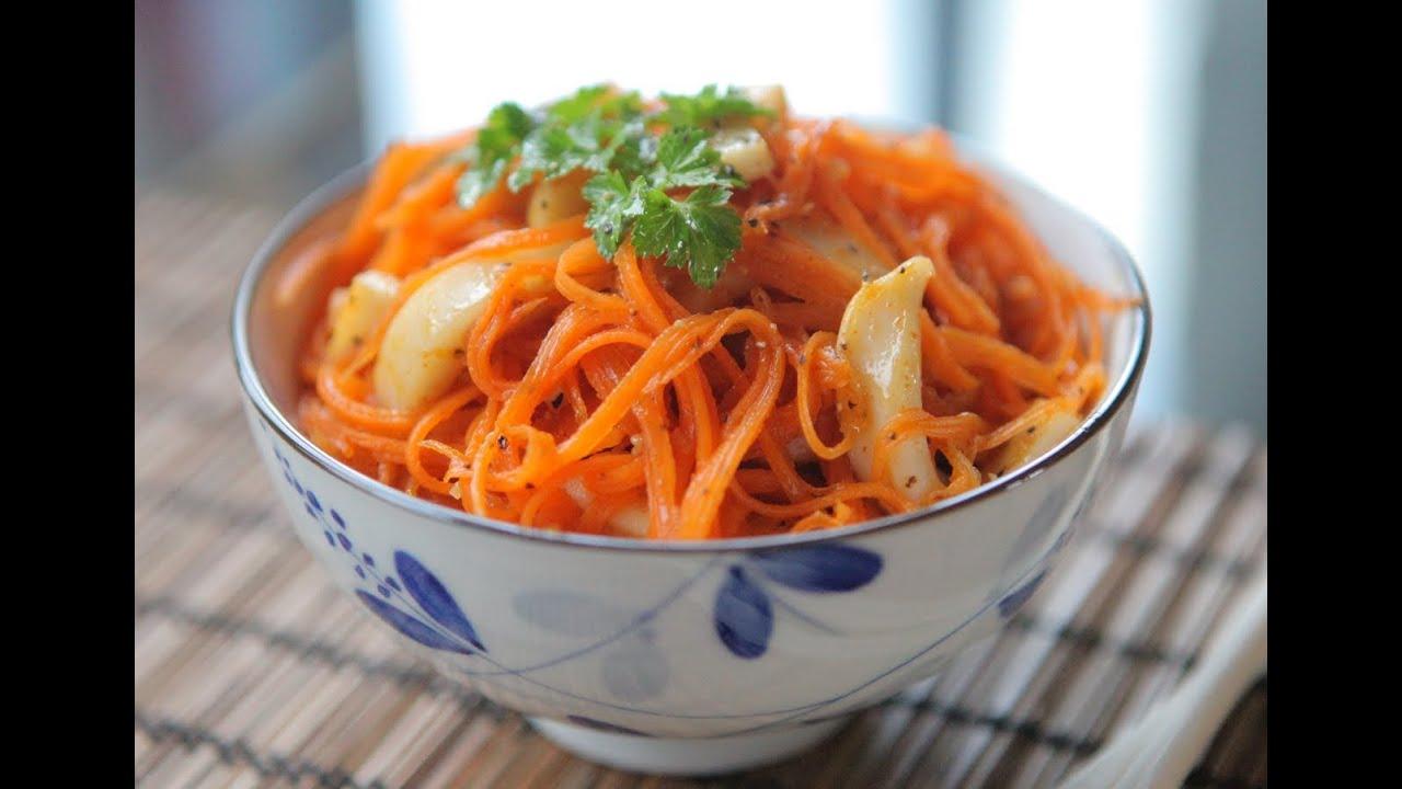 морковный по корейский салат рецепт