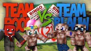 """Minecraft """"BINGO"""" - Rood VS Blauw - Deel 2"""