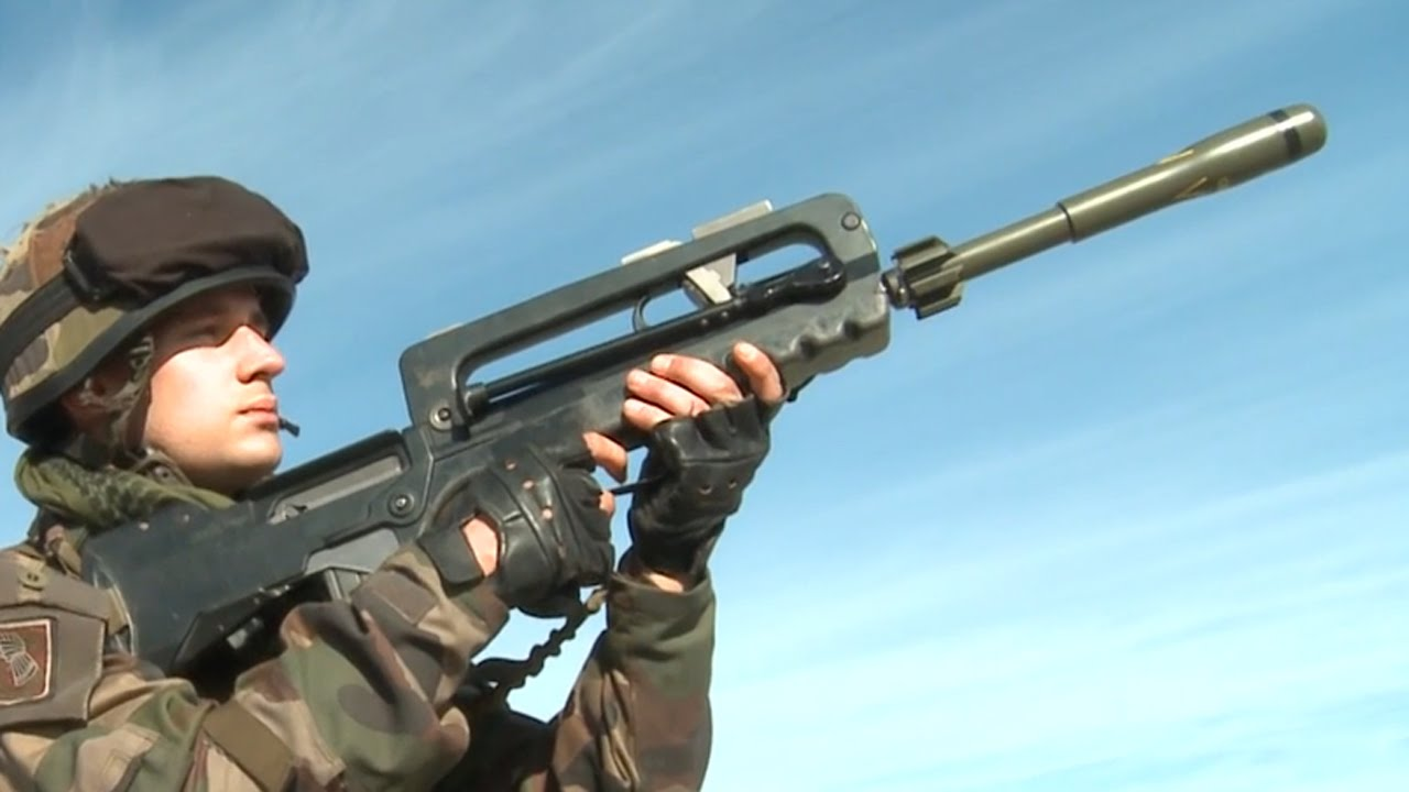 APAV40ライフルグレネード & LGI Mle F1軽迫撃砲・フランス陸軍 - French Army 21e RIMa
