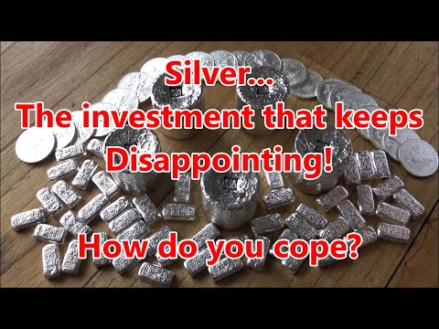Is Silver The Disappointment That Just Keeps On Giving!?   How Do You Cope With Market Volatility?