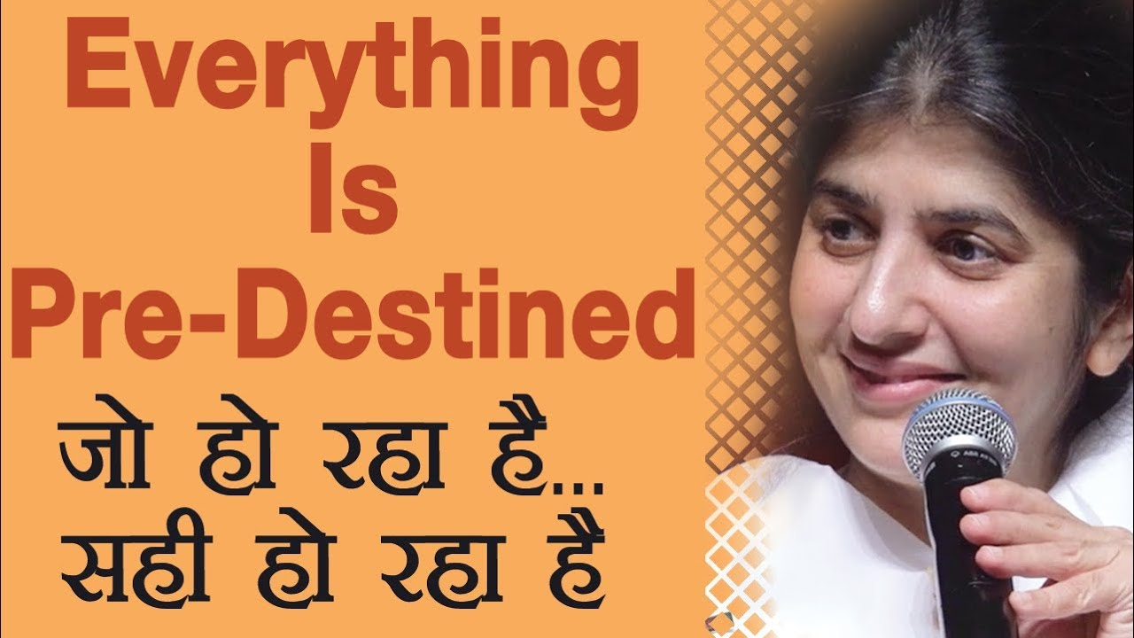 Everything Is Pre-Destined: Ep 22: BK Shivani (Hindi)