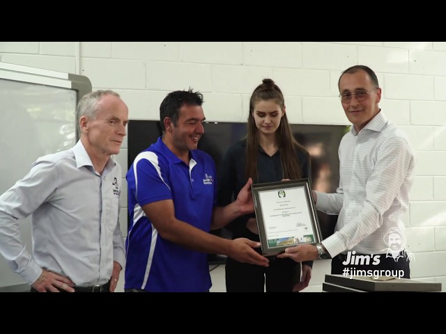 Jim's Handyman HIA Certificate 4 in Building and Construction Graduation Ceremony