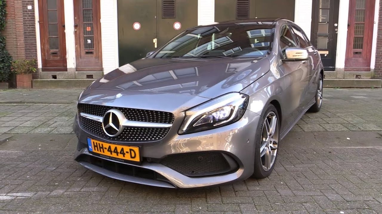 mercedes benz a class amg 2017 test drive in depth review interior exterior youtube. Black Bedroom Furniture Sets. Home Design Ideas