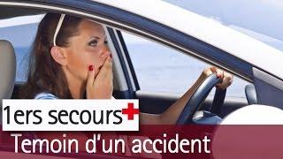 Accident de voiture : les premiers gestes