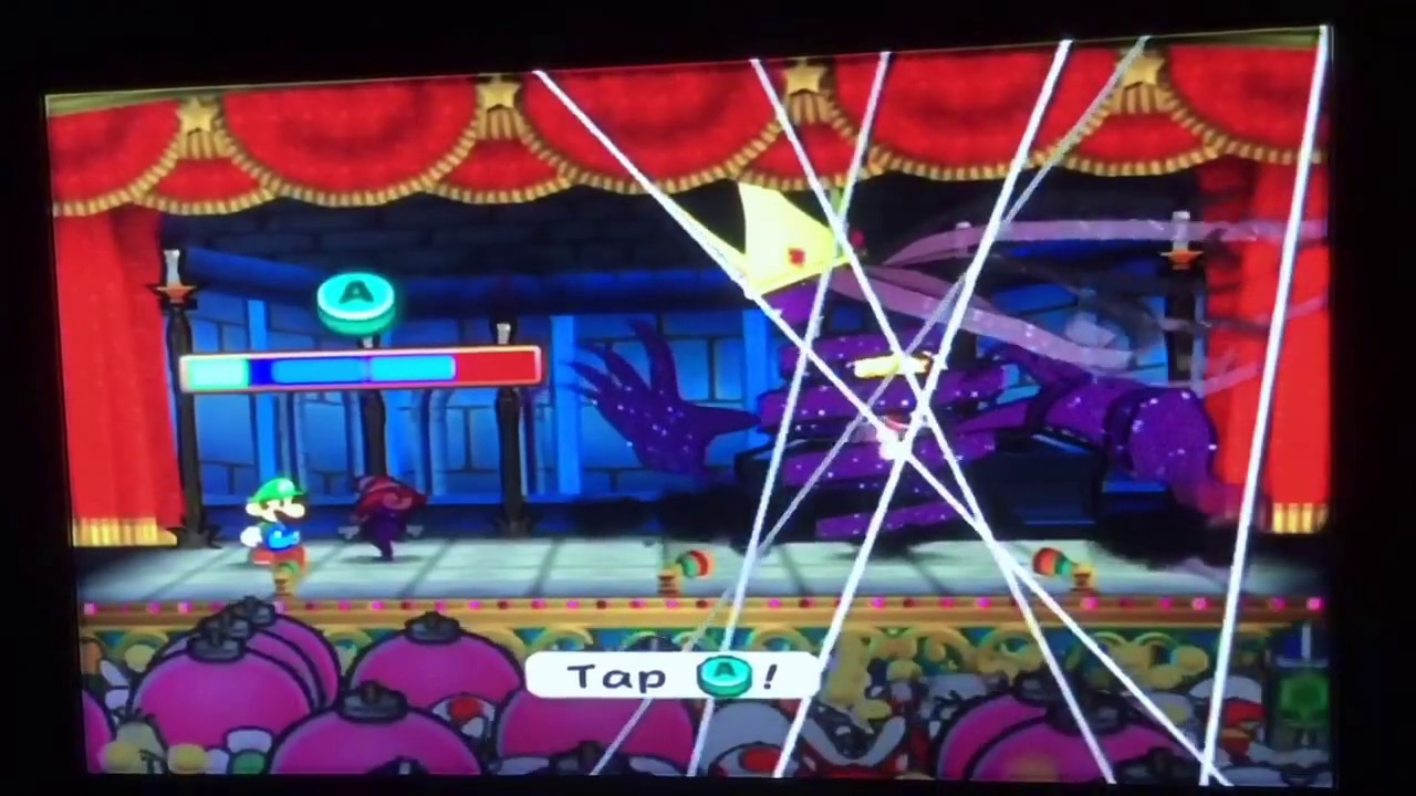 Paper Mario: The Thousand Year Door Final Boss Shadow Queen