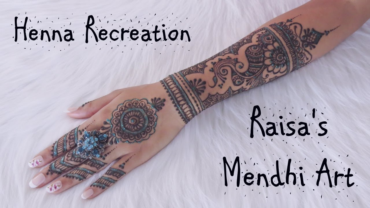 Mehndi Henna By Ash : Henna recreation 2 ash kumar inspired raisa's mendhi art youtube