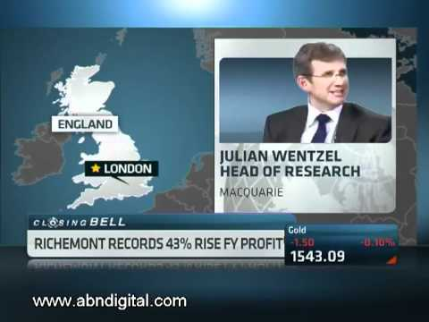 Richemont Full Year Results with Julian Wentzel