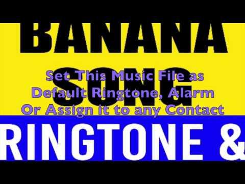 Minion's Banana Song Ringtone and Alert