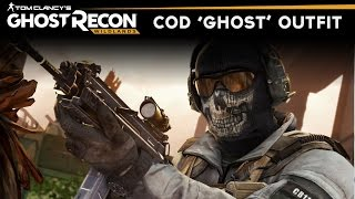 "Ghost Recon Wildlands - How to make Simon ""Ghost"" Riley Outfit (COD MW2 Ghost Skin)"