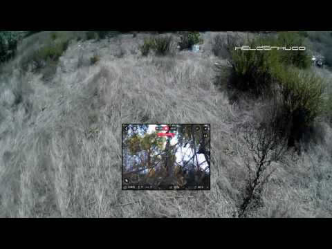 Parrot Bebop 2 FPV Breaking connection crash and search for it Episode 2
