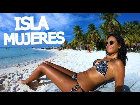 STUNNING ISLAND! ISLA MUJERES (MEXICO TRAVEL)