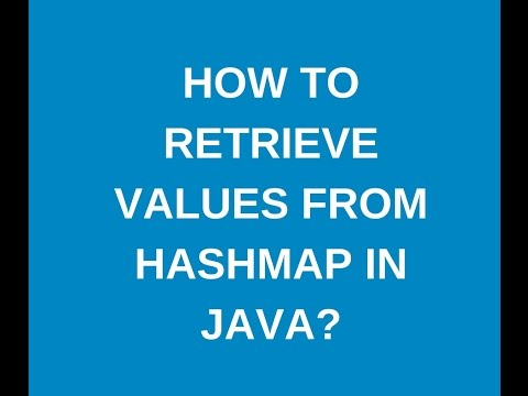 How To Get Values From Hashmap In Java