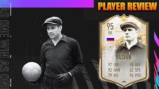 LEV YASHIN 95 ICONO MOMENTS PLAYER REVIEW   ¿VALE LA PENA?   FIFA 21 ULTIMATE TEAM