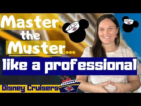 Disney Cruise Muster Drill Pro Tips | Mandatory Guest Assembly Drill