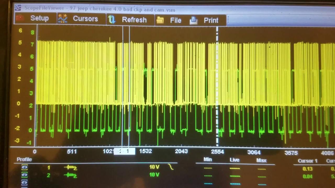 97 Jeep Cherokee P0320 Crankshaft Position Sensor Circuit Failure Xj Speed Wiring Diagram