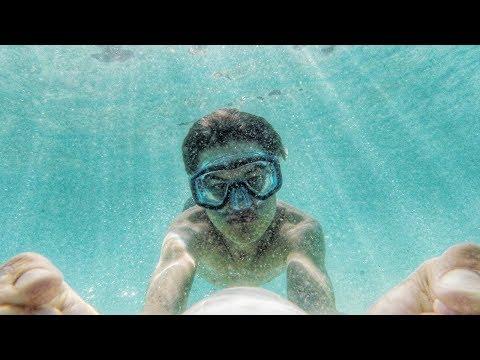 Mit Unterwasser HOVERBOARD durch das Meer!