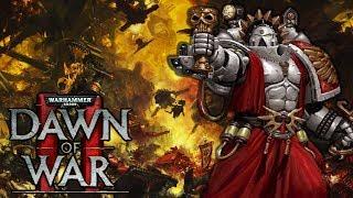 BLOOD ANGELS - Space Marines vs. Greenskins Faction War 3v3 - Warhammer 40K Dawn of War 2 Elite