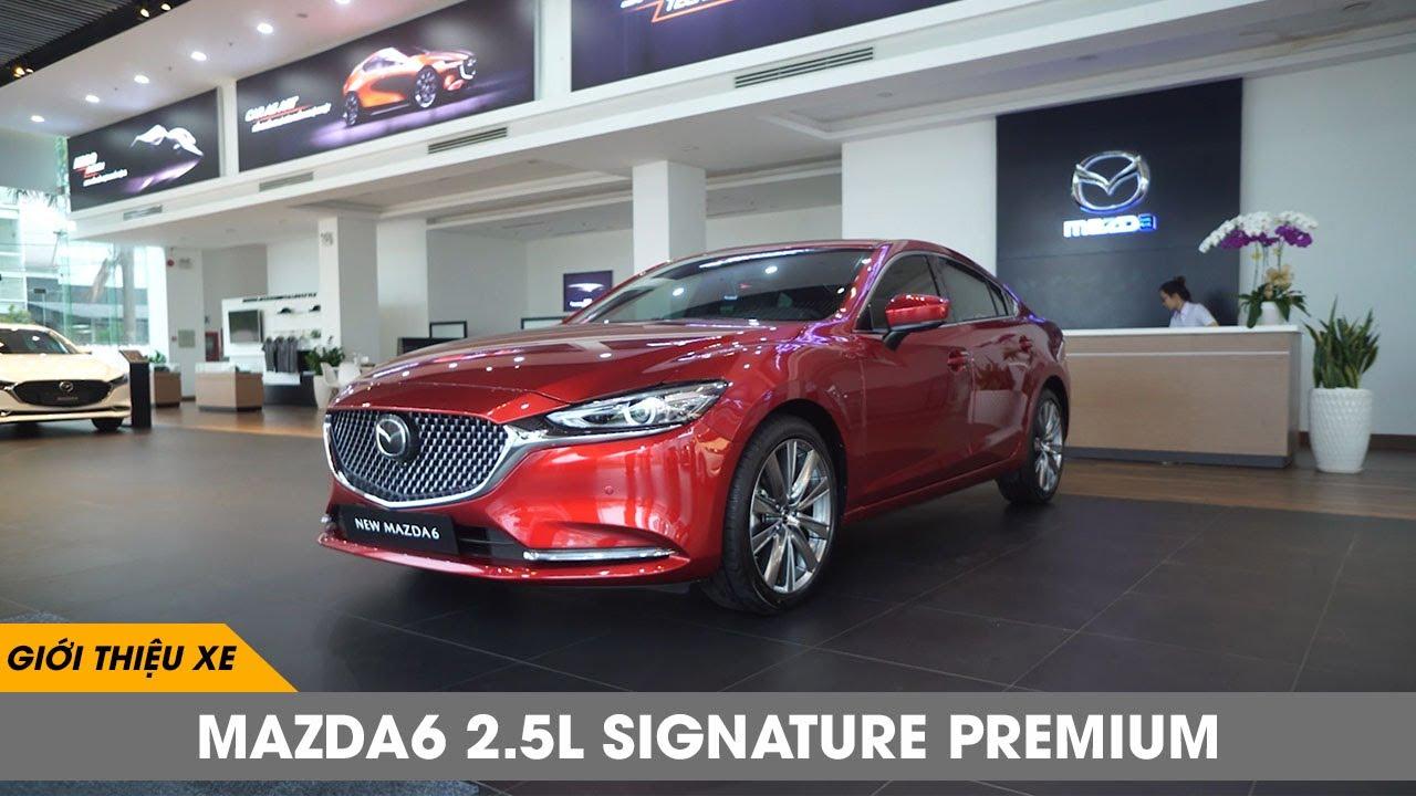 [danhgiaXe.com] Giới thiệu xe New Mazda6 2.5L Signature Premium
