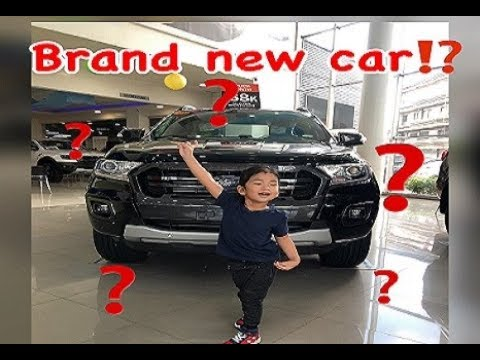 Brand New Car For Aiden!