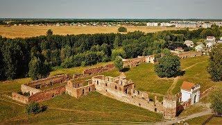 Горад Бяроза - Руіны кляштара сярэдзіны 17-га стагоддзя