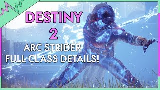 ARCSTRIDER SKILL TREE REVEALED! Destiny 2 Arcstrider Hunter Class Info