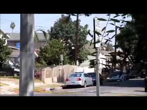 Shooting in the hood (South Los Angeles) caught on camera