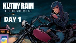 Kathy Rain: The Director's Cut - Day 1 Walkthrough & iPad iOS/Android Gameplay Part 1 (by Raw Fury)