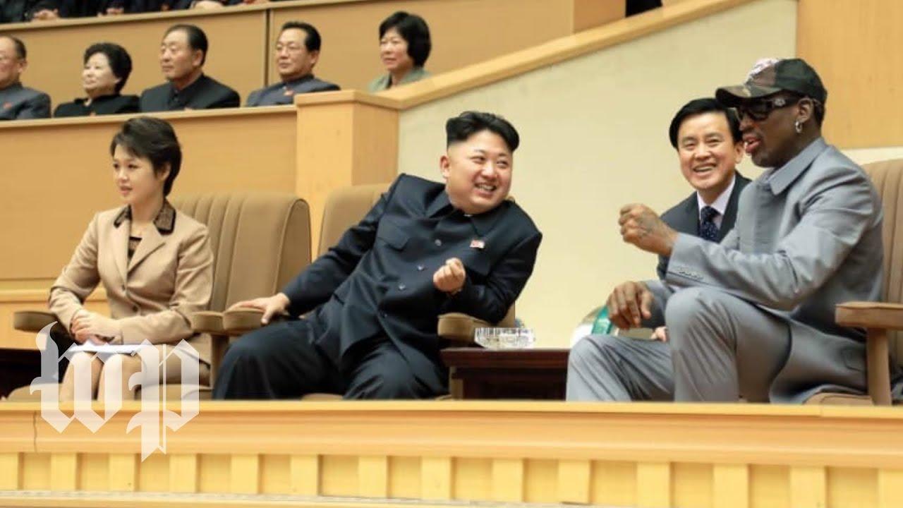 Dennis Rodmans History With North Korea Youtube