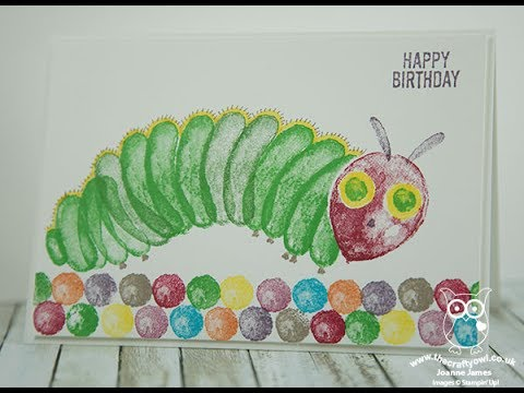 How to recreate the very hungry caterpillar using stampin ups how to recreate the very hungry caterpillar using stampin ups balloon builders stamp set bookmarktalkfo Image collections