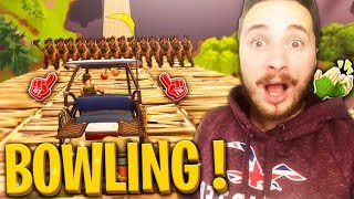 *new* mode bowling en serveur privé sur fortnite battle royale !