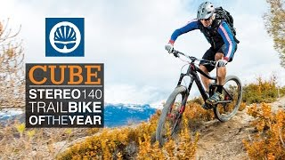 Cube Stereo 140 - Trail Bike of the Year - Contender