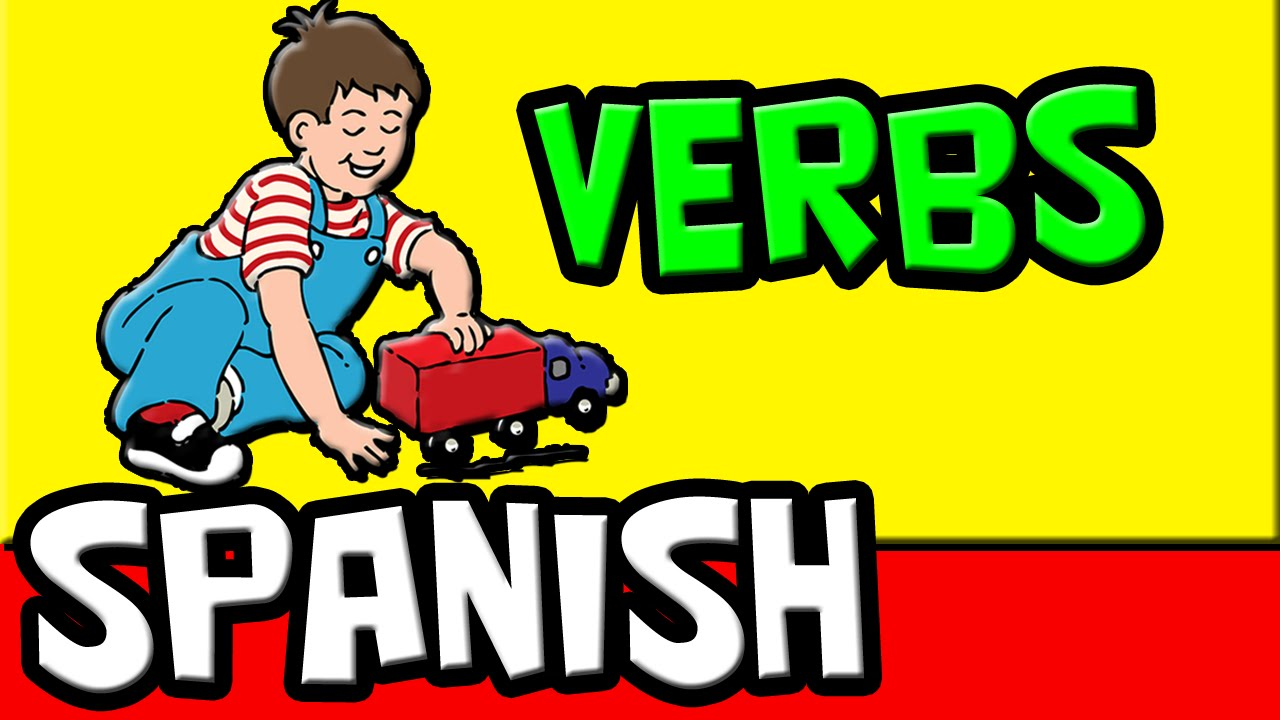 English In Italian: 25 Spanish Verbs For Kids