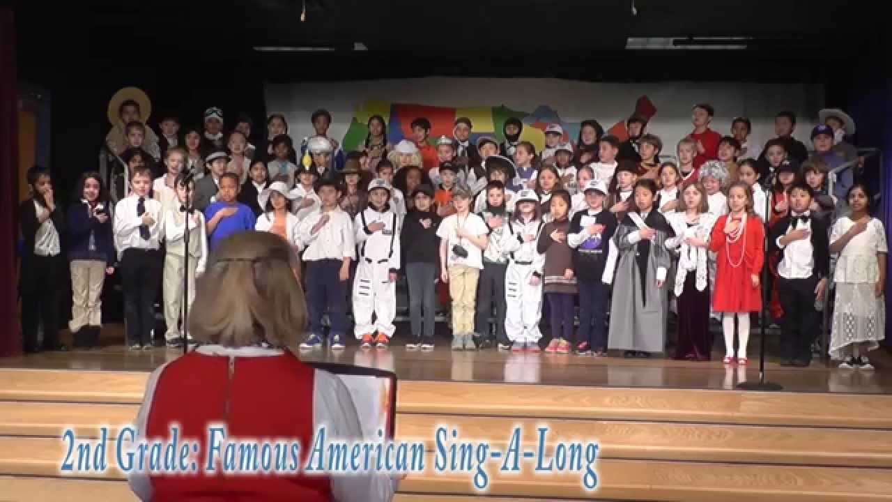 The Nysmith School: 2nd Grade - Famous American Sing-A ...