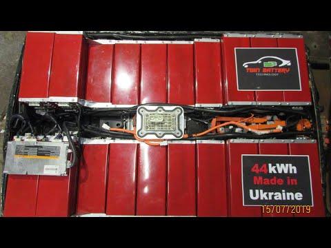 Перепаковка батареи Nissan Leaf на 44кВт.   Tuning battery Nissan Leaf 44kW