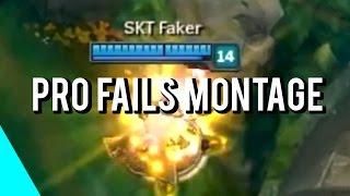 Pro Players Fails Montage | (League of Legends)