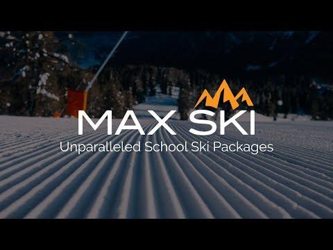 School Ski Trips With Max Ski
