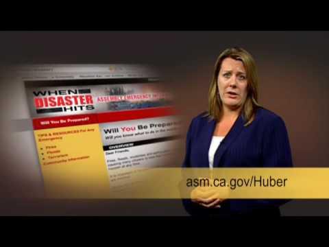 Alyson Huber Emergency Preparedness PSA