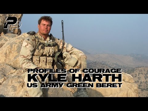 Profiles of Courage: Kyle Harth