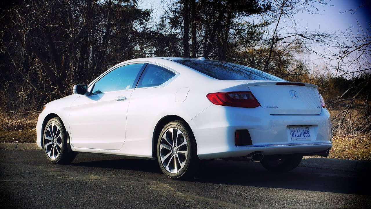Lovely 2014 Honda Accord Coupe V6 EX L Navi Review   YouTube