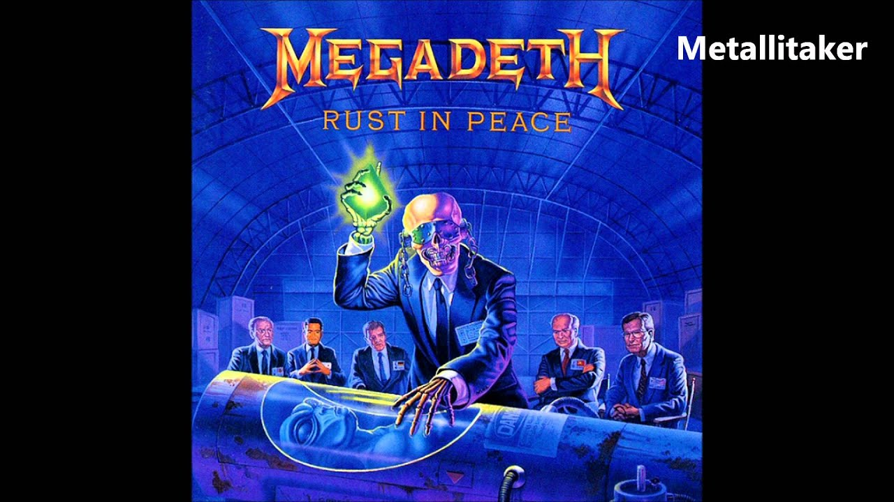 How To Stop Rust >> Megadeth - Rust In Peace...Polaris - YouTube